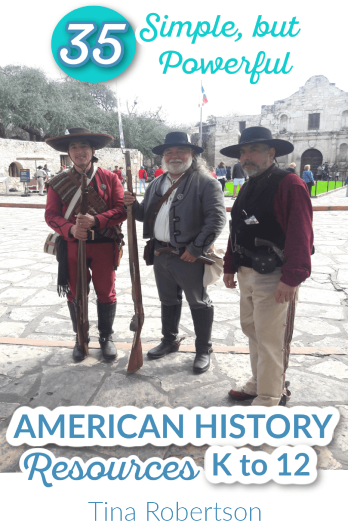 35 Simple But Powerful American History Homeschool Resources K to 12
