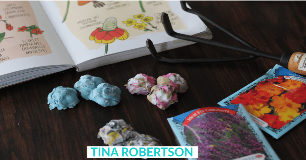 Fun Kids Activity How to Make Wildflower Seed Bombs