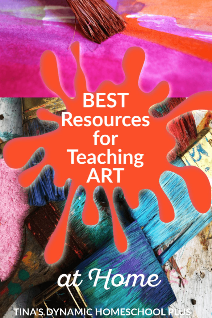 The Best Resources for Teaching Art at Home (K to Gray) at Tina's Dynamic Homeschool Plus. You'll love this AWESOME roundup of YouTube art lessons, curriculum, and games. CLICK HERE!