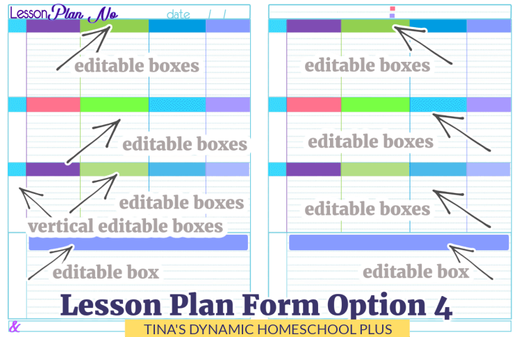 The Best Colorful Undated Dynamic Daily Homeschool Planner