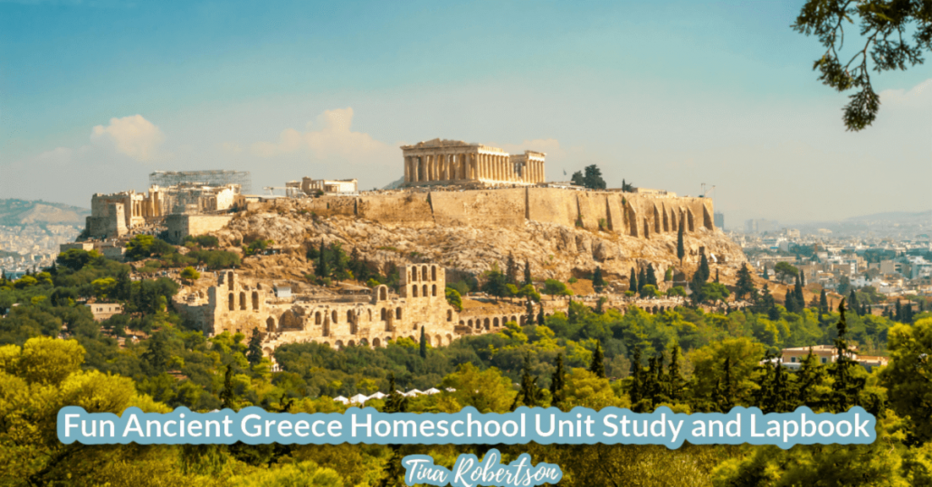 Fun Ancient Greece Homeschool Unit Study and Lapbook