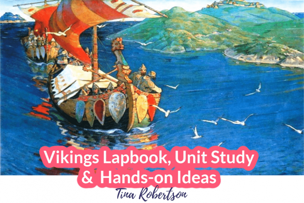 Vikings Lapbook Unit Study and Hands-on Activities
