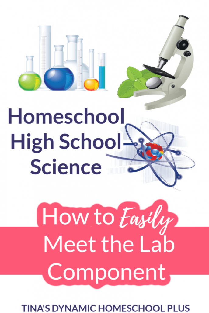 How to Easily Meet the Lab Component of Homeschool High School Science