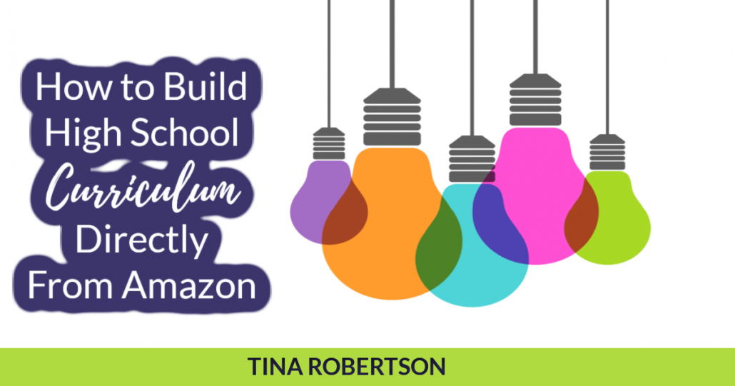 How to Build High School Curriculum Directly From Amazon