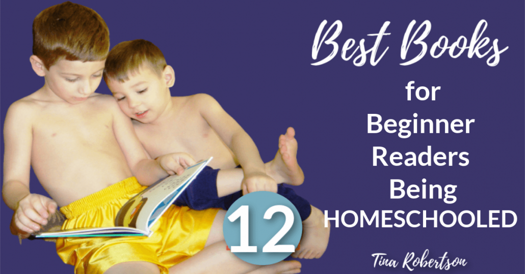 12 of the Best Books For Beginner Readers Being Homeschooled