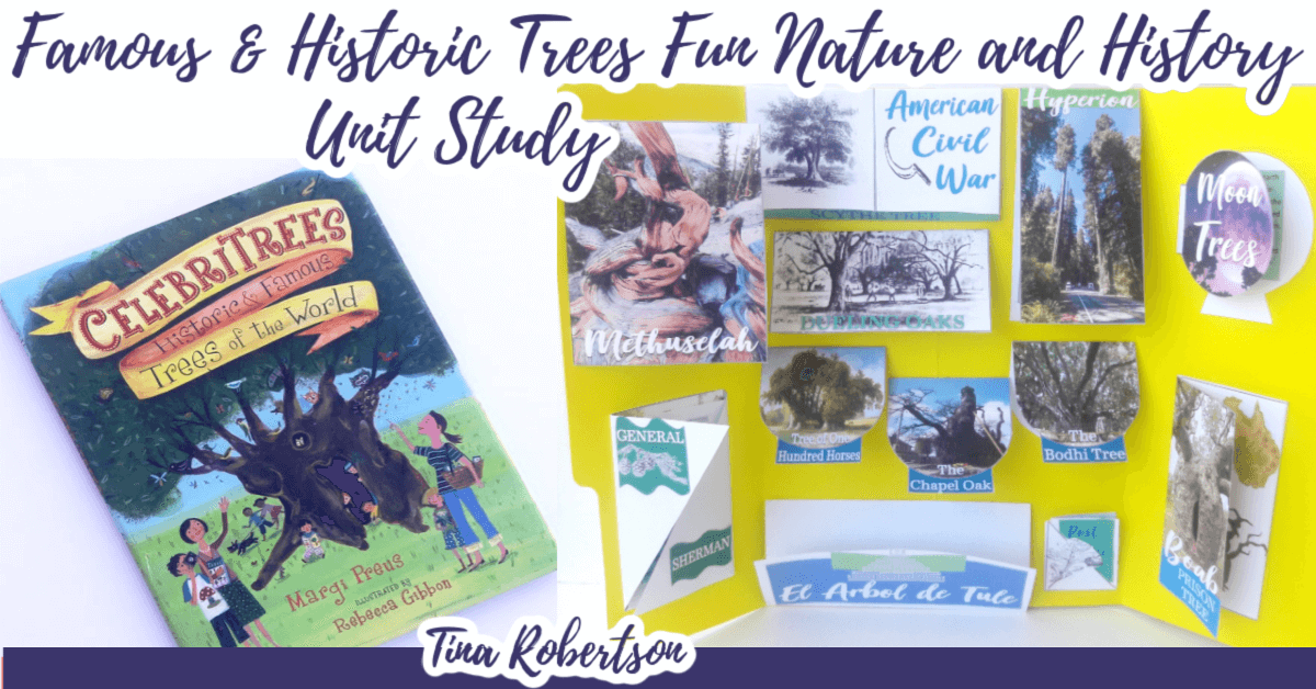 Dynamic Famous and Historic Trees Lapbook for Multiple Ages