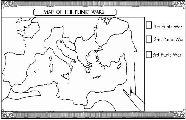 Ancient Civilizations – Ancient Rome Map Worksheet
